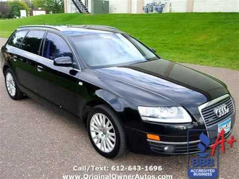 audi wagon black 2006 audi a6 3 2l avant awd quattro wagon black