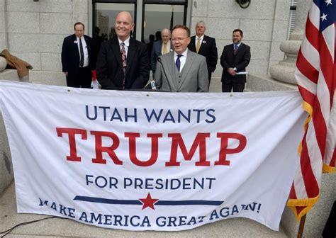 donald trump utah trump s utah win mormon rural and republican factors