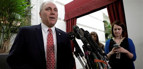 house majority whip poll voters views of steve scalise shooting differ greatly from gabrielle giffords