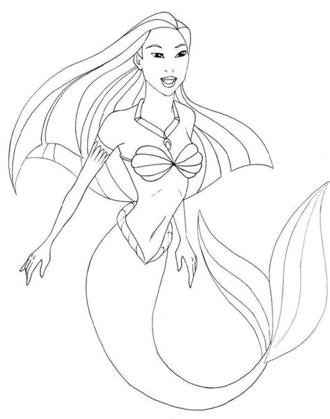 coloring pages colouring pages mermaid coloring pages in photos pocahontas the mermaid coloring pages pocahontas
