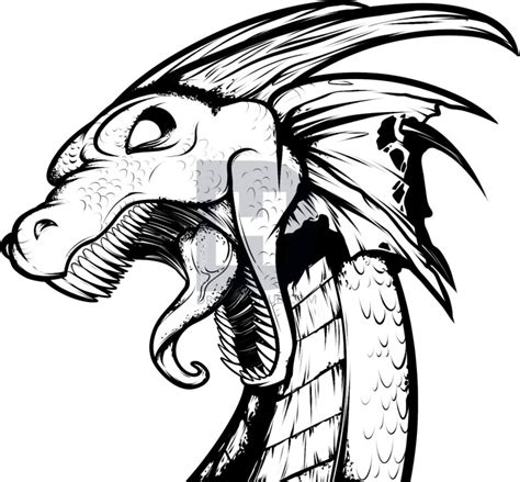 How To Draw A Dragon Tattoo Dragon Tattoo Step By Step Easy Tattoos To Draw 3