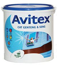 Cat Akrilik Avian cat genteng avitex 4kg pt rama distributor avian