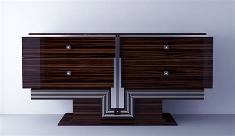 modern art deco furniture art deco on behance