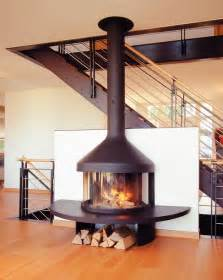 Wood Burning Fireplace Freestanding by Best 20 Freestanding Fireplace Ideas On