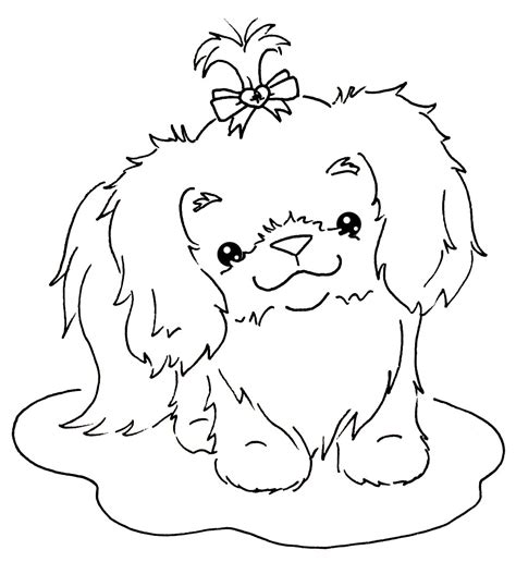 coloring pages of shih tzu dogs shih tzu coloring pages dinsdag 5 oktober 2010