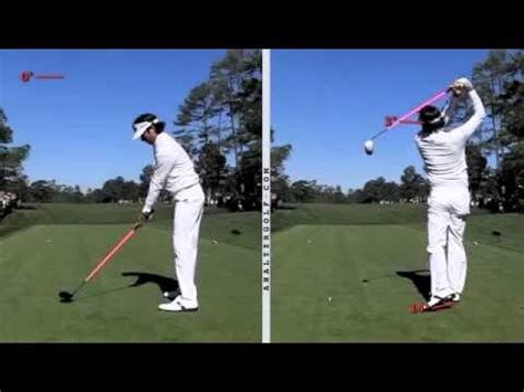 Bubba Watson Jumping For More Distance By The Golf Swing