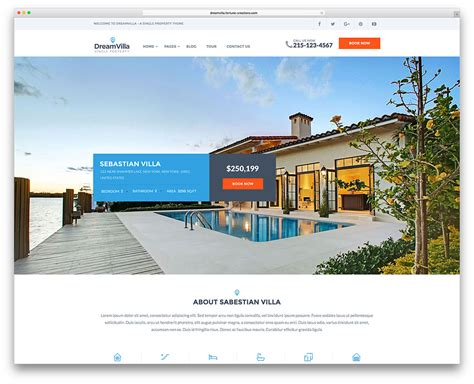 Real Estate Listing Website Template 36 Best Real Estate Wordpress Themes For Agencies Realtors And Directories 2018 Colorlib