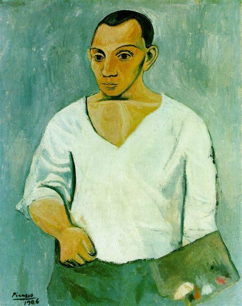 picasso paintings self portrait pablo picasso self portrait 1907