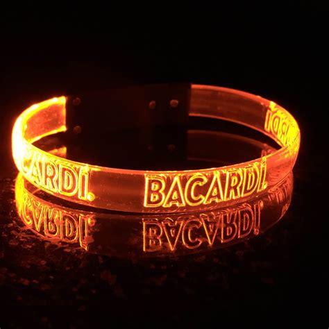 custom led wristbands personalized custom light up