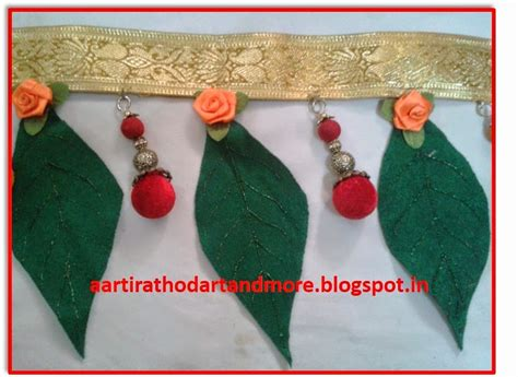 How To Make Paper Toran - artandmore diy diwali toran