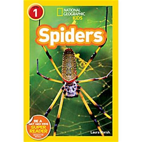 national geographic readers spiders national geographic
