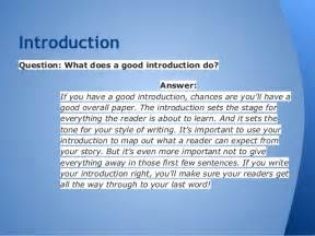 Compare And Contrast Essay Exle Introduction by Compare Contrast Essay