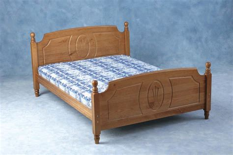 Antique King Size Bed Frame Zerbino Solid Antique Pine King Size Bed Frame Bedframe Ebay