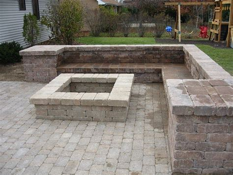 build pit with seating pit designs this pit and sitting bench were