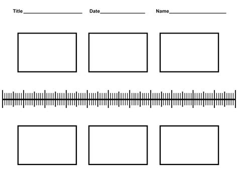 timeline template printable history timeline worksheets for classrooms