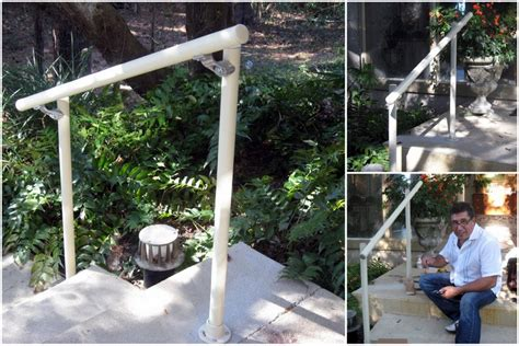 outdoor banister railing easy to install outdoor stair railing