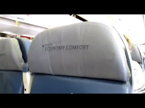 delta 777 economy comfort delta 777 economy comfort overview youtube