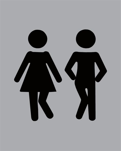 bathroom sign person 28 best signs images on pinterest restroom signs toilet
