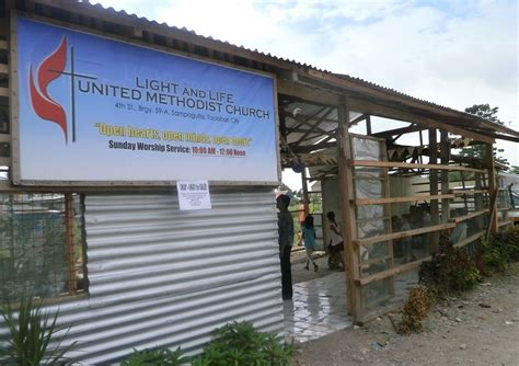 light and life church light and life church rises from typhoon wreckage the