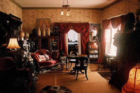 psychic eclectic victorian living room set decorator rick