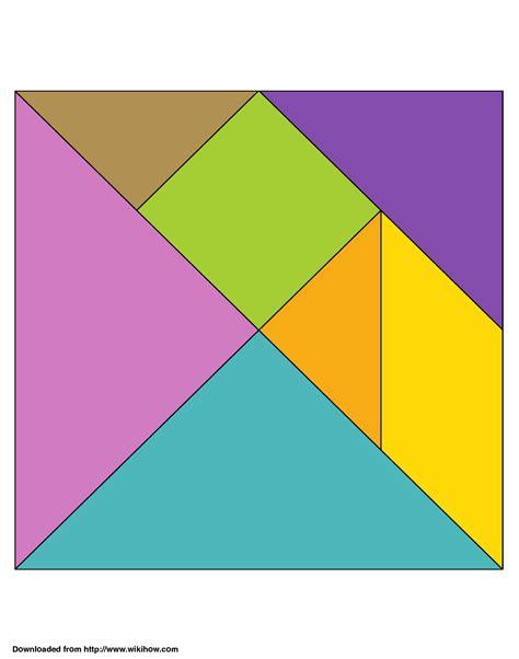 printable tangram tangram printable clipart best