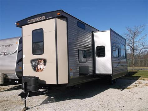 rear bedroom travel trailer new 2016 cherokee 39p front bunkhouse with rear queen