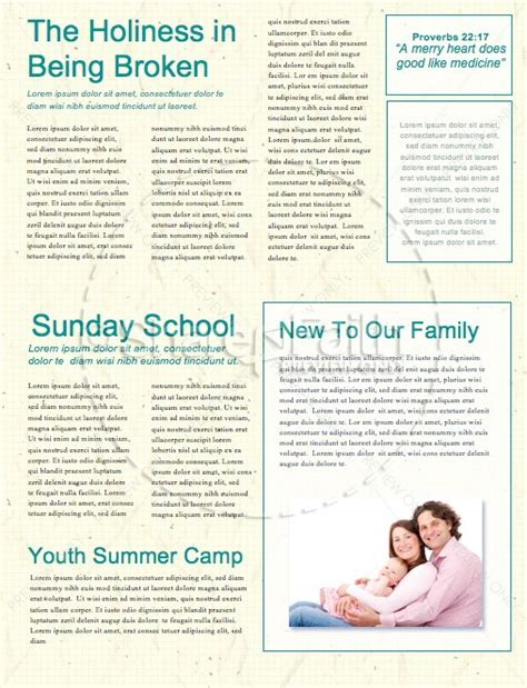 School Supply Drive Ministry Newsletter Template Newsletter Templates Drive Newsletter Template
