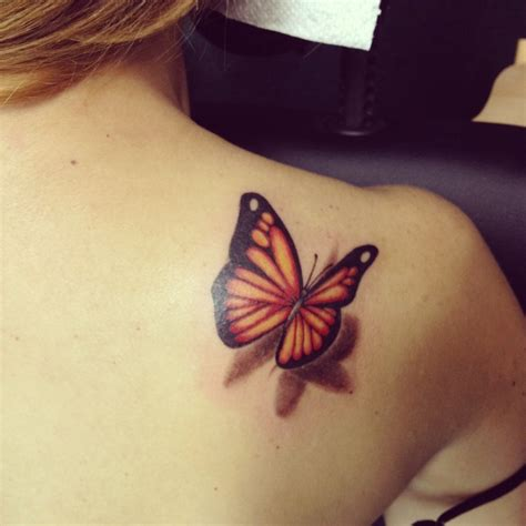 tattoo butterfly yellow yellow butterfly tattoo on shoulder