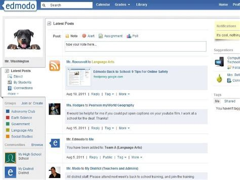 edmodo facebook resetting education social networks for the classroom