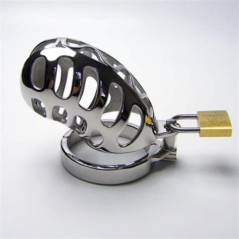 uberkinkys stainless steel spiral chastity device review stainless steel cockcage chastity device penis cock cage