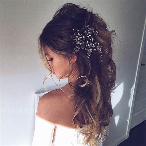Wedding Hair For Dress by 28 Trendy Wedding Hairstyles For Chic Brides Wedding