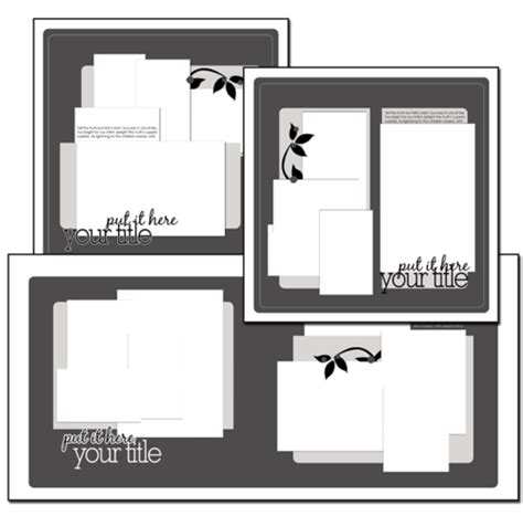 scrapbook layout software free new sketch bundle for scrapbook pages unexpected