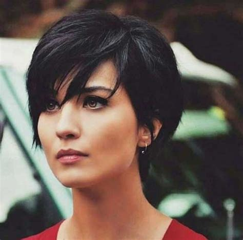 haircut on long red hair cut to a pixie cut trendy long pixie haircuts you will like the best short