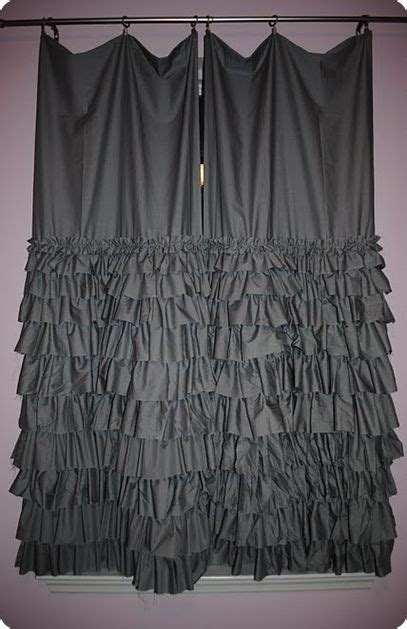 carolina ruffled curtains 25 best ideas about ruffle curtains on pinterest