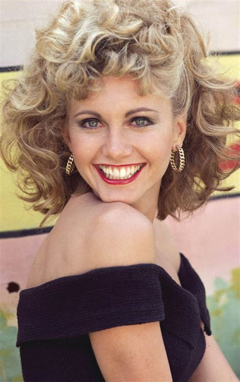 make your hair look like olivia newton john can you guess whose celebrity daughter this is olivia