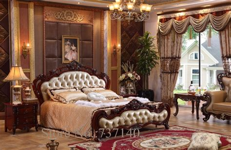 Luxury Bedroom Sets Furniture Aliexpress Buy Bedroom Furniture Baroque Bedroom Set Solid Wood Bed Luxury Bedroom