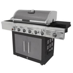 brinkmann 6 burner dual fuel gas grill 810 6680 s the
