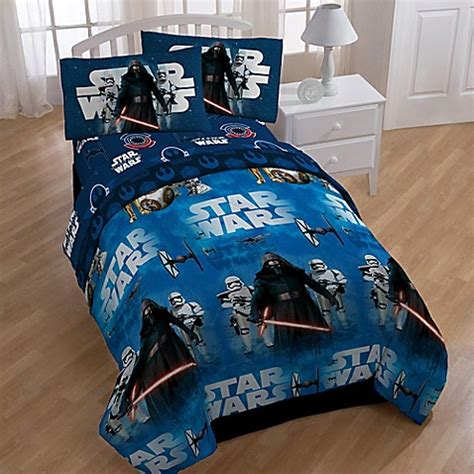 star wars bedding twin star wars the force awakens 4 piece twin comforter set