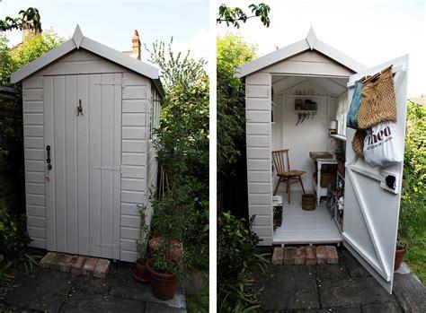 idea    small garden shed