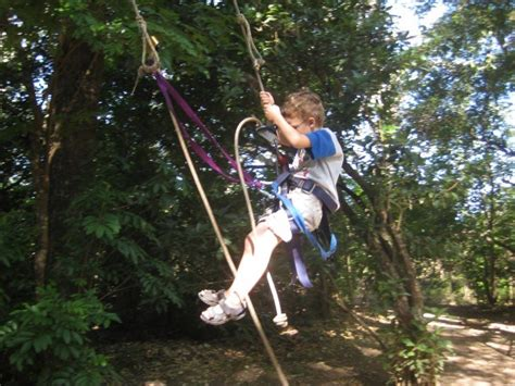 tarzan the monkey man swinging on a rubber band song ziplining in guanacaste costa rica