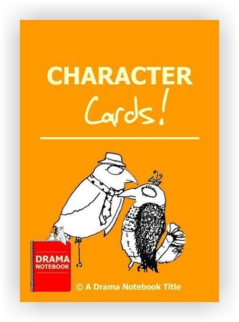 character card template drama 1334 best drama and activities images on