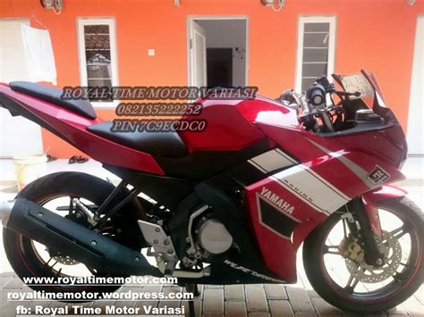 jual fairing model r25 new vixion royaltime