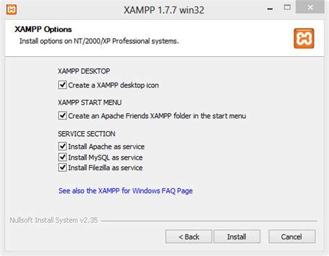membuat web resmi membuat web server dengan xp anadino