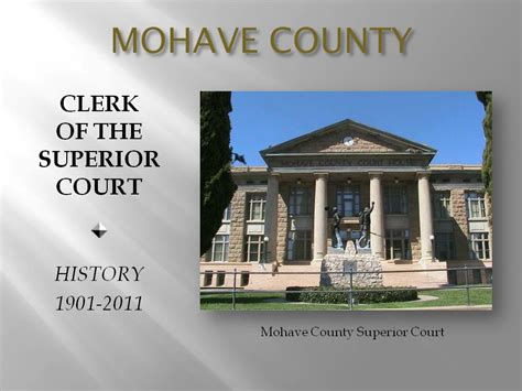 Superior Court Clerk S Office by Judicial Branch Of Arizona County Of Mohave