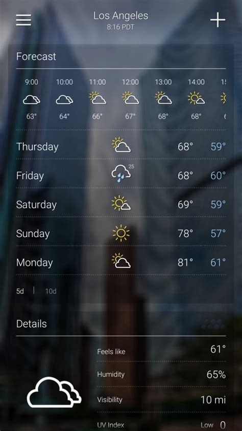 weather app for android phone the best android weather app review of 15 best weather apps for android