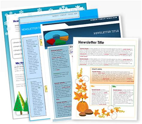 free printable school newsletter templates img