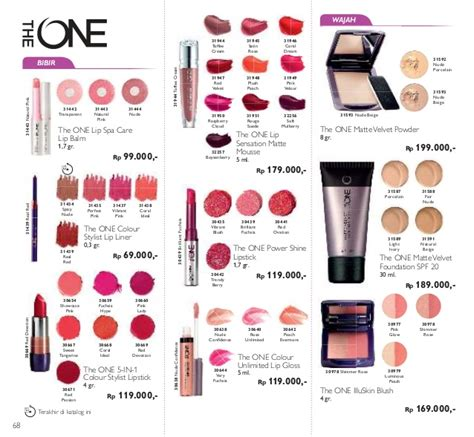 Oriflame The One Colour Unlimited Lip Gloss Evermore 30642 katalog oriflame desember 2016 plus katalog mini novage