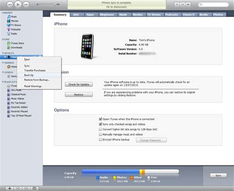 itunes phone backup how to increase iphone 3g speed with ios 4 nublue
