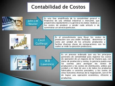 contabilidad de costos i contabilidad de costos