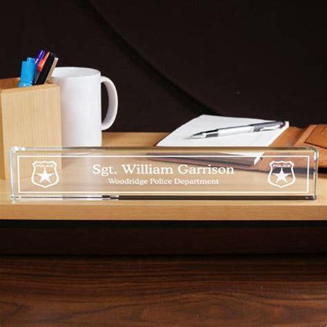 personalized department desk nameplate custom